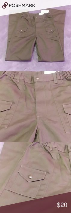 NWT Boy Scouts of America boys size 14 pants NWT Boy Scouts of America boys size 14 waist 27 pants. Boy Scouts of America Bottoms