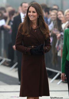The Duchess of Cambridge visits Havelock Academy.  Duchess of Cambridge #katemiddleton