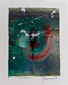 Svelato, 2015, tecnica mista, 9 x 11 cm
