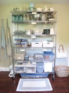 Jenny Steffens Hobick: Work Room Office Utility Laundry Room Makeover