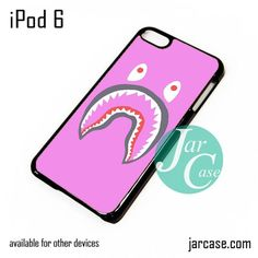 Pink Bape Shark iPod Case For iPod 5 and iPod 6