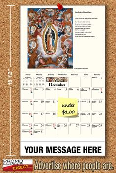 2021 Catholic Art Wall Calendars low as Fundraise for your Church or School. Promote your Business in the homes and offices of people in your area every day! Catholic Art, Promote Your Business, Your Message, Our Lady, Fundraising, The Neighbourhood, Investing, Parents, Calendar