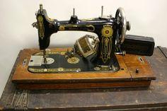 Vintage Western Electric Sewing Machine Late 1800's. $139.00, via Etsy.
