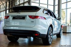 The #Jaguar #FPACE rear view