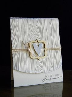 Paper Wishes: ~from the bottom of my heart...~ card by Geri