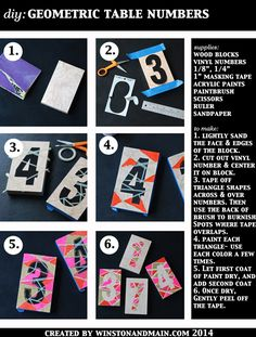 Broke-Ass articles about table numbers - The Broke-Ass Bride: Bad-Ass Inspiration on a Broke-Ass Budget Diy Wedding, Wedding Hacks, Budget Wedding, Wedding Stuff, Wedding Ideas, Wedding Day Timeline, 75th Birthday, Photo Booth Backdrop, My Themes