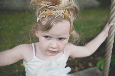 'Bohomaids' by What Katy Did Next ~ Pretty Bohemian Bridesmaid And Flowergirl Inspired Headpieces And Accessories