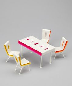 Karim Rashid Dining Room Doll Furniture Set
