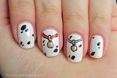 Disney Nails - 101 Dalmatians - Nails At Home