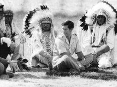blackfeet indian   Prince Charles Attending Blackfoot Indian Tribal Ceremony in Calgary ...