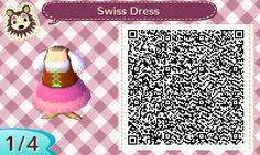 Swiss Dress | QRCrossing.com
