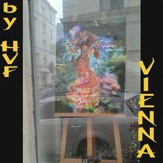 Exhibition Tribute to KLIMT - 19 to 27/09 - The Vienna Workshop Gallery Participar em Viena de uma Exposição em Tributo a KLIMT é uma grande responsabilidade e honra! Várias de minhas telas poderiam homenagear a fase dourada de Klimt; contudo optei por um caminho menos óbvio. A Obra Serpentes Marinhas (Water Serpents) é a tela de Klimt homenageada pela escolha da Sereia Kianda (Mermaid Kianda) Ambas enaltecem a figura feminina e a sensualidade bem como à Mitologia.  Participating in Vienna…