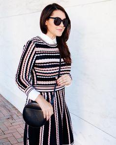 Lady like scallops and stripes today.  http://liketk.it/2ppwQ @liketoknow.it #liketkit  #kendieverydat #ontheblog