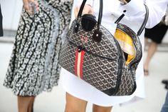 Sac Goyard http://www.vogue.fr/defiles/street-looks/diaporama/street-looks-a-la-fashion-week-printemps-ete-2014-de-new-york-jour-6/15173/image/828911#!sac-goyard