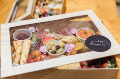 From October until March locals and visitors can now do away with lugging eskies of food, we have AMAZING Platters Boxes to order and pick up from our Showroom across from the Burleigh Beach. Charcuterie Gift Box, Charcuterie Recipes, Charcuterie And Cheese Board, Party Food Platters, Cheese Platters, Sandwich Platter, Sandwich Box, Veggie Box, Graze Box