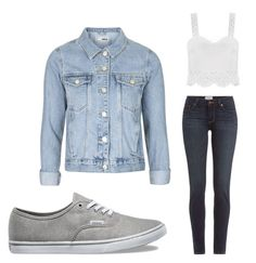"""""""WANT WANT WANT"""" by faithpiddock ❤ liked on Polyvore featuring Vans, Paige Denim and Topshop"""