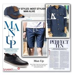 """Man Up"" by mery66 ❤ liked on Polyvore featuring men's fashion and menswear"
