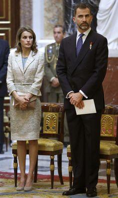 Princess Letizia - Mass for the Centenary of the Birth of Don Juan de Borbon