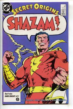 Secret Origins 3 2nd Series DC 1986 VF Shazam Whiz Comics 1 Roy Thomas
