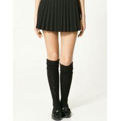 Jupe courte ZARA Mini jupe Plissée en laine