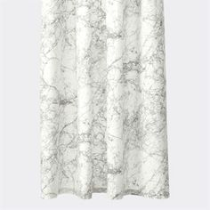 The stylish Marble shower curtain from Ferm Living helps you keep your privacy in the shower and prevent water from splashing. The shower curtain has a trendy design with a pattern that looks like real marble. Match the curtain with other fine products from Ferm Living to give your bathroom a nice look.