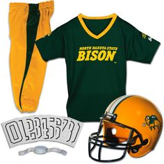huge selection of 866fe 67b02 Franklin North Dakota State Bison Youth Deluxe Uniform Set