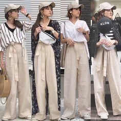 Media Japan Fashion, Striped Pants, Style Me, Street Style, Suits, Minimalism, Japanese, Stripped Pants, Urban Style