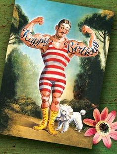 We have new cards at Cartolina. This time we've gone with a vintage circus theme. Happy Birthday Best Wishes, Happy Birthday Pictures, Birthday Greetings, School Carnival, Circus Theme, Circus Party, Wishes Images, Vintage Circus, My Images