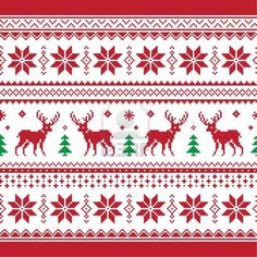 30 Beautiful Picture of Knitting Pattern Christmas . Knitting Pattern Christmas Christmas And Winter Knitted Seamless Pattern Or C Stock Card Patterns, Knit Patterns, Cross Stitch Patterns, Nordic Pattern, Scandinavian Pattern, Scandinavian Style, Red Wall Art, Christmas Knitting Patterns, Fair Isle Knitting