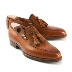Someone knows how to take care of their tassel loafers.