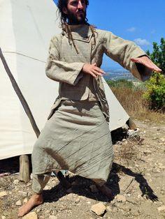 Hanf Afghani Hose gemacht, einer sehr schön Fairtrade-Hand :) dick Hanf gewebt Hat Taschen auf jeder Seite... Sie können die Farben auf dem