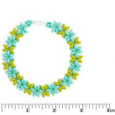 Row of Posies Bracelet | Fusion Beads Inspiration Gallery