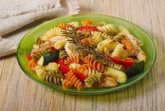 Easy Chicken and Pasta Dinner - Kidney-Friendly Recipes - DaVita. Used asparagus & red peppers. Davita Recipes, Kidney Recipes, Healthy Beef Recipes, Best Pasta Recipes, Pasta Dinner Recipes, Herb Recipes, Healthy Pastas, Kidney Foods, Kidney Health