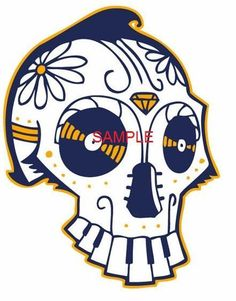 Looking for your next project? You're going to love Music Skull Cross Stitch Chart by designer mikejue676292516.