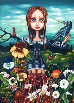 Angelina Wrona --- this is the one I don't have yet that i really want.. madame nature