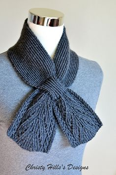 Free, Ravelry: Everest Scarf pattern by Christy Hills
