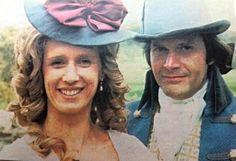 George and Elizabeth Warleggan (Ralph Bates and Jill Townsend)
