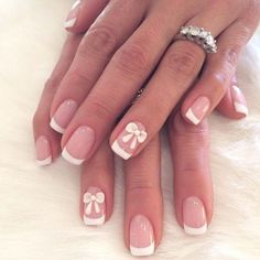 16 Adorable Bow Nail Designs for Women