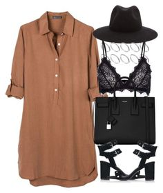 """""""Untitled #4203"""" by maddie1128 ❤️ liked on Polyvore featuring United by Blue, rag & bone, ASOS, Anine Bing, Yves Saint Laurent and Topshop #casualoutfits"""