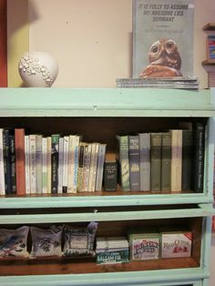 do i dare paint our barrister bookcase?? Barrister Bookcase, Bookcases, Pretty Green, Storage Solutions, Home Projects, Diy Furniture, Living Spaces, Sweet Home, Crafty