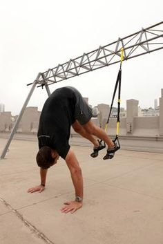 5 Toughest TRX Exercises for a Full-Body Workout (Some of the exercises aren't very well explained, but those that are look promising)