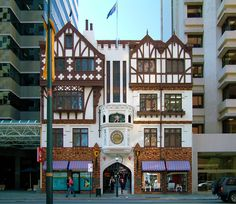 London Court on St. George's Terrace, Perth, Western Australia.