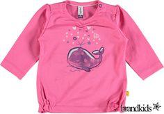Babyface Longsleeve roze - Meisjes Baby T-shirts lange mouw €17,95