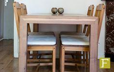 eettafel tafel notenhout noten maatwerk design meubelmaker hillegom