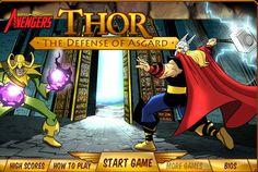 RECORDATORIO: Buen juego de Thor donde lo tienes que ayudar a vencer a los enemigos y a su hermanastro.  ►http://www.ispajuegos.com/jugar5781-Thor-The-Defense-of-Asgard.html