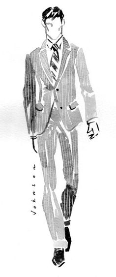 nice More on negative space, use it to show pattern, in particular here, the pinstrip... by http://www.dezdemonfashiontrends.top/fashion-sketches/more-on-negative-space-use-it-to-show-pattern-in-particular-here-the-pinstrip/