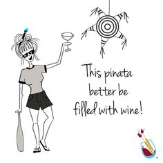 Always remember- it's what's inside that counts. #WINE #HappyCincodeMayo #PattyTwist Find a studio: www.paintingwithatwist.com/locations/all