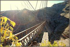 Puente de ojuela en Mapimi Durango