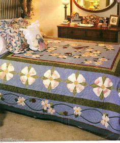 southern girl sews: great-grandmother's dogwood quilt | modern ... : dogwood quilt pattern - Adamdwight.com