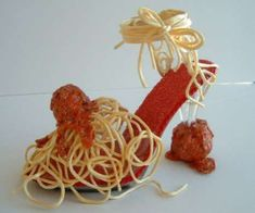 Spaghetti High Heels Anyone?